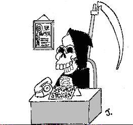 A pena de morte.